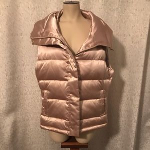 Talbot's Gold Down Feather Vest, L